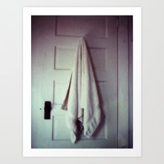 homemade study no. 17 (towel) Art Print