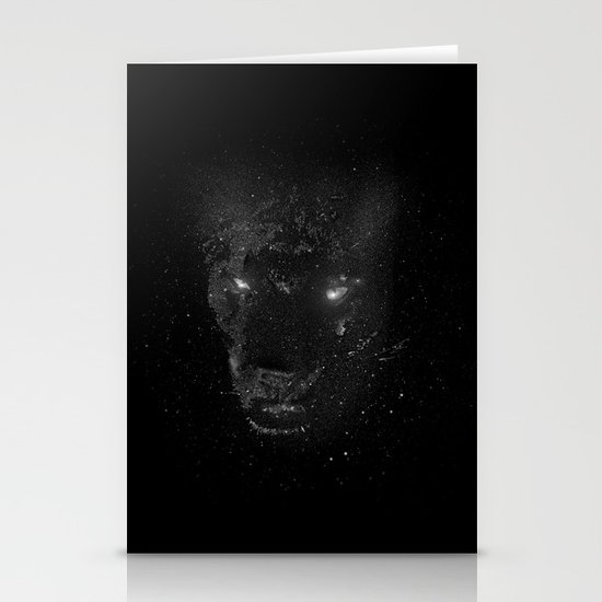 Space Panther Stationery Card