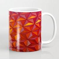 Geometric Epcot Mug