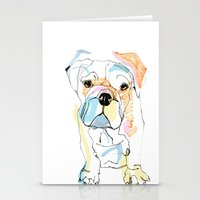 Bulldog Colour Stationery Cards
