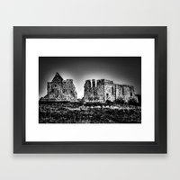 Ghost Of The Past Framed Art Print