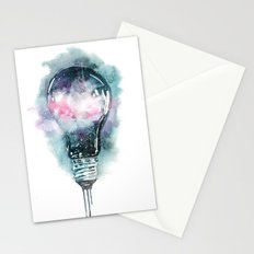 Universe light Stationery Cards