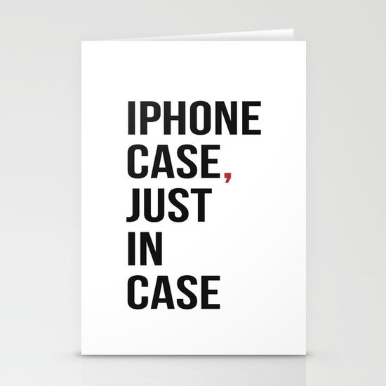 Iphone Case Stationery Card