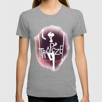Circus - Trapeze Womens Fitted Tee Tri-Grey SMALL