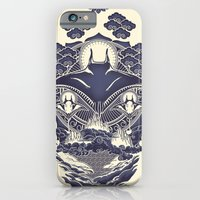 iPhone & iPod Case featuring Mantra Ray by Don Lim