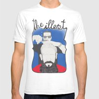 The Illest Haircut Mens Fitted Tee White SMALL