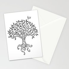 Shirley's Tree BW Stationery Cards