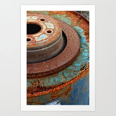 Urban Circles Art Print