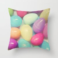 Easter Surprise Throw Pillow