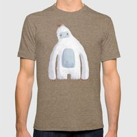Yeti Mens Fitted Tee Tri-Coffee SMALL