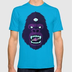 Cosmorilla Mens Fitted Tee Teal SMALL