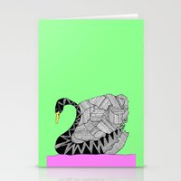 Another Swan Stationery Cards