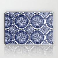 Paisley Blues Laptop & iPad Skin