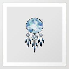 Dreamer Blue Art Print