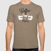 Coffee - You Drink It! Mens Fitted Tee Tri-Coffee SMALL