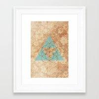 Geometrical 007 Framed Art Print
