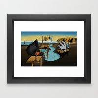 Where Time Stands Still … Framed Art Print