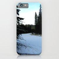 Wintertime in WaterValley iPhone 6 Slim Case