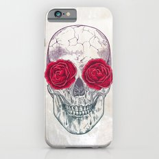Skull & Roses Slim Case iPhone 6s