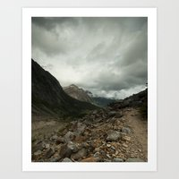 Mout Edith Cavell Art Print