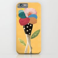all flowers in time bend towards the sun iPhone 6 Slim Case