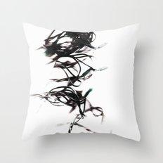 Mr. Tangles Throw Pillow