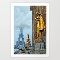 femmes parisiennes III Art Print
