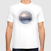 Sunset I C. IV Mens Fitted Tee White SMALL