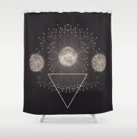 Shower Curtain featuring LEUKSNO - Plástica X Ni… by Nikola Nupra