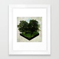 The Present Framed Art Print
