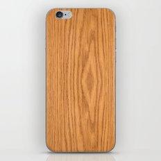 Wood 4 iPhone & iPod Skin