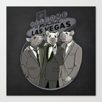 Rat Pack Canvas Print