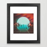 Framed Art Print featuring 400KELVIN (everyday 08.1… by Beeple