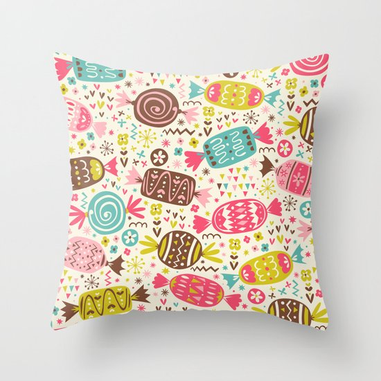 Sweeties Throw Pillow