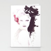 Fashion Illustration In … Stationery Cards
