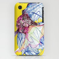 iPhone Cases featuring Siamese Fighting Fish by Frankie Dean