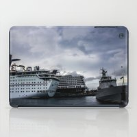 Port Of Call...Nassau iPad Case