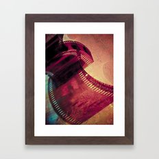 Film Framed Art Print