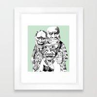 UZUMEN Framed Art Print