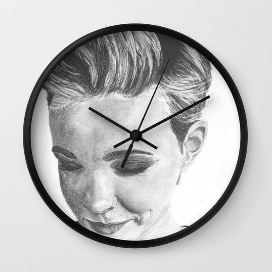 Carey Mulligan Wall Clock