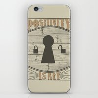 Positivity Is Key V.2 iPhone & iPod Skin