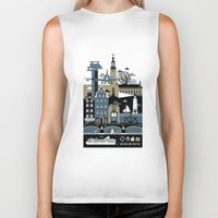 Biker Tank featuring Stockholm by koivo