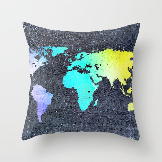 The World Belongs to you Throw Pillow