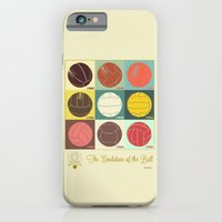 iPhone & iPod Case featuring The Evolution of the Ball by Betirri