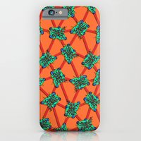 iPhone & iPod Case featuring Apoptosis (Death of a Man's Cell)  by Rat McDirtmouth