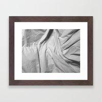 Bedsheets Framed Art Print