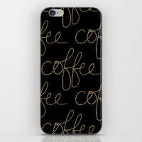 Coffee Dots iPhone & iPod Skin