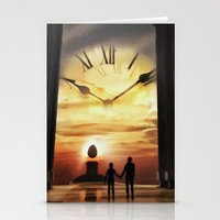 Until The End Of Time Stationery Cards