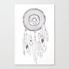 music catcher Canvas Print