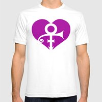 A Prince Has Fallen     Tribute Mens Fitted Tee White SMALL